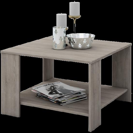 Coffee Dohányzóasztal 75x75x37 cm