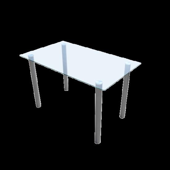 Étkezőasztal üveg lappal
