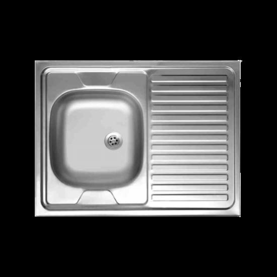 Teletetős mosogató 800x600x100 mm